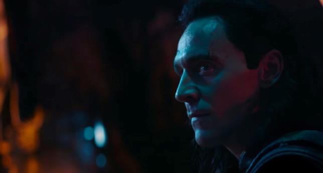 Lo sguardo di Loki in Avengers: Infinity War