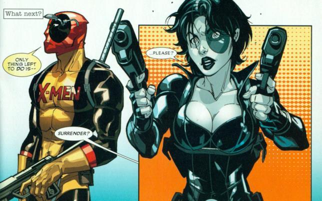 Deadpool e Domino insieme in azione