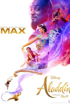 La magia di Aladdin nel poster IMAX