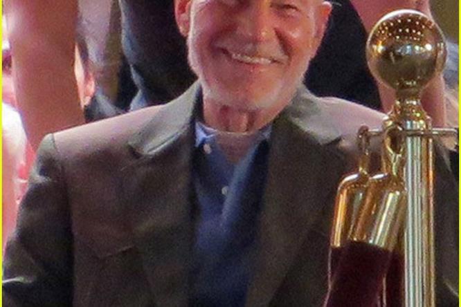Patrick Stewart sul set di Wolverine 3