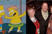 I Simpson: Martin Prince e Russi Taylor in un collage