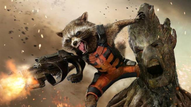 Un'immagine promozionale dedicata ai Guardiani della Galassia