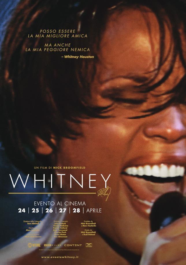 La locandina di Whitney