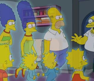 I Simpson alle prese con Marvin Monroe