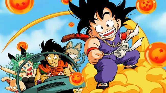 Goku e gli altri protagonisti di Dragon Ball