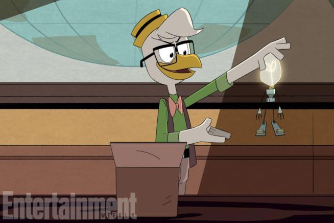 Gastone nelle immagini del reboot di DuckTales