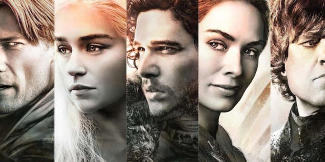 Tutti i protagonisti principali di Game of Thrones
