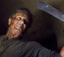 Sylvester Stallone in una scena del trailer di Rambo V: Last Blood