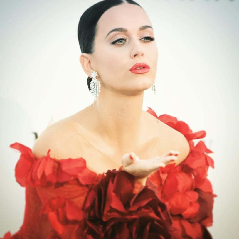 Primo piano di Katy Perry