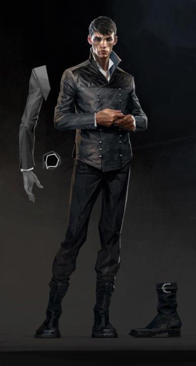 L'Esterno, personaggio di Dishonored 2