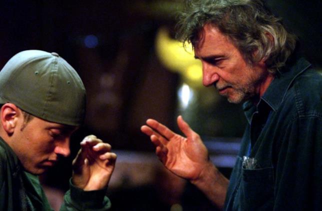 Il regista Curtis Hanson e Eminem