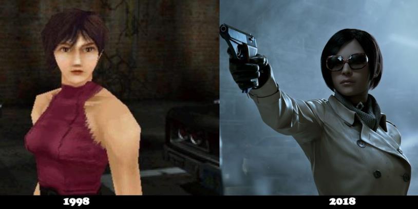 Ada Wong è molto diversa nel remake di Resident Evil 2