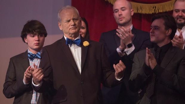 Bill Murray e la standing ovation