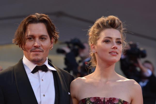 Johnny Depp e Amber Heard quando stavano insieme