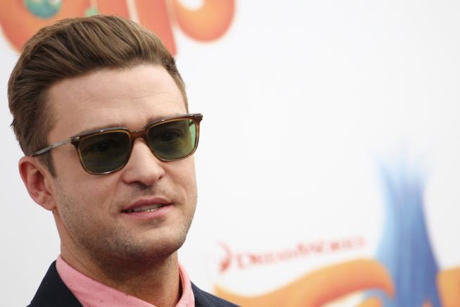 Primo piano di Justin Timberlake