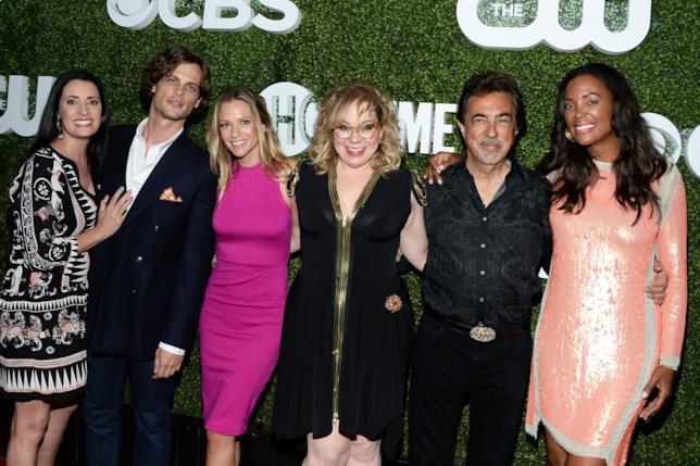 Parte del cast della serie TV Criminal Minds