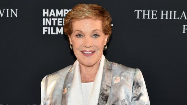 Julie Andrews a una uscita ufficiale