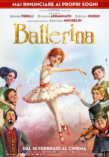 Il poster italiano di Ballerina
