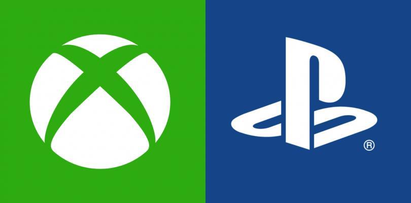 I loghi di Xbox e PlayStation