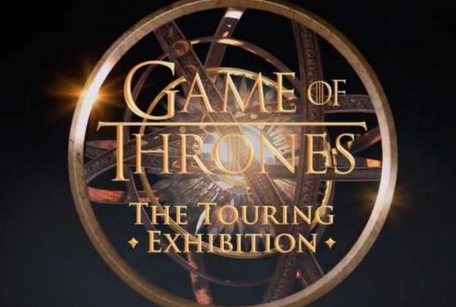 Logo della mostra di Game of Thrones