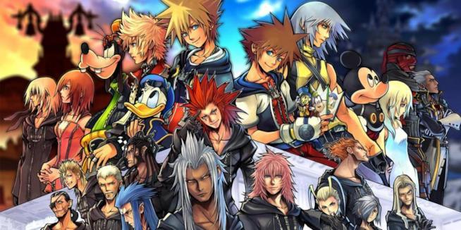 Un ritratto di tutti i personaggi principali di Kingdom Hearts