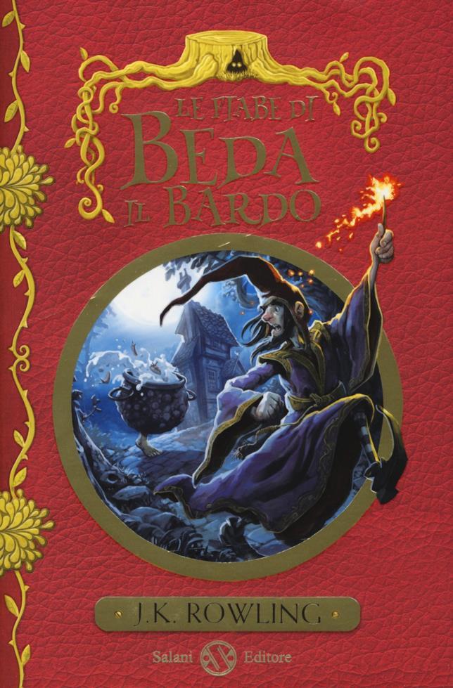 Le fiabe di Beda il Bardo, con il pentolone salterino in copertina