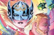 Dettaglio della cover di The Mighty Thor Vol. 3: Asgard/Shi'ar War