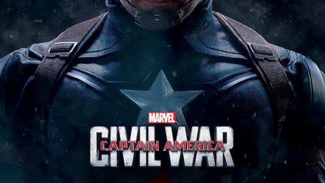 Uno dei poster del film Captain America: Civil War