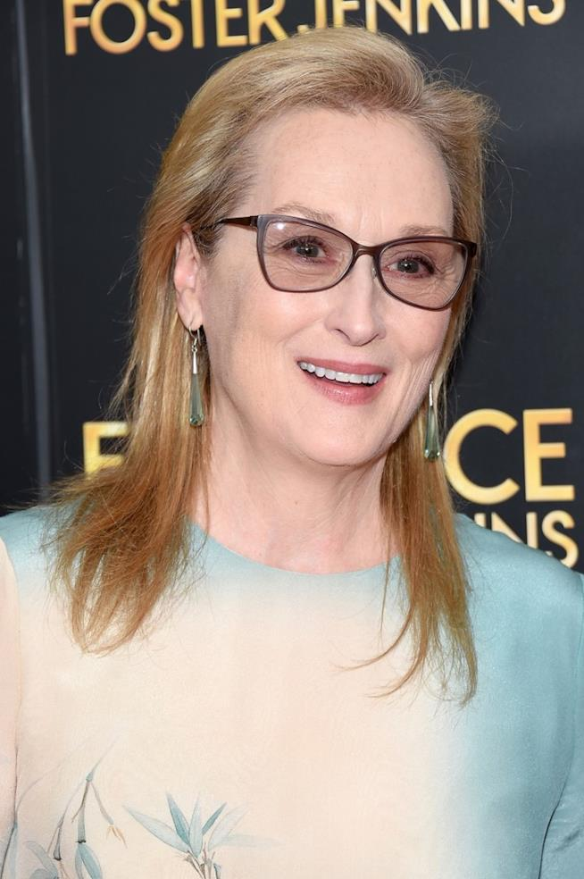 Meryl Streep sul red carpet di Florence Foster Jenkins