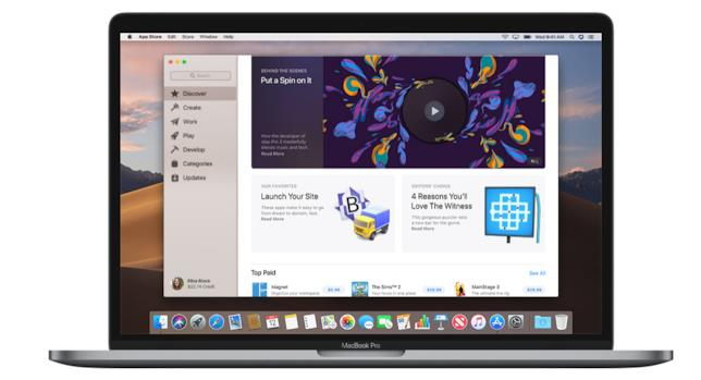 Il rinnovamento Mac App Store di Mojave