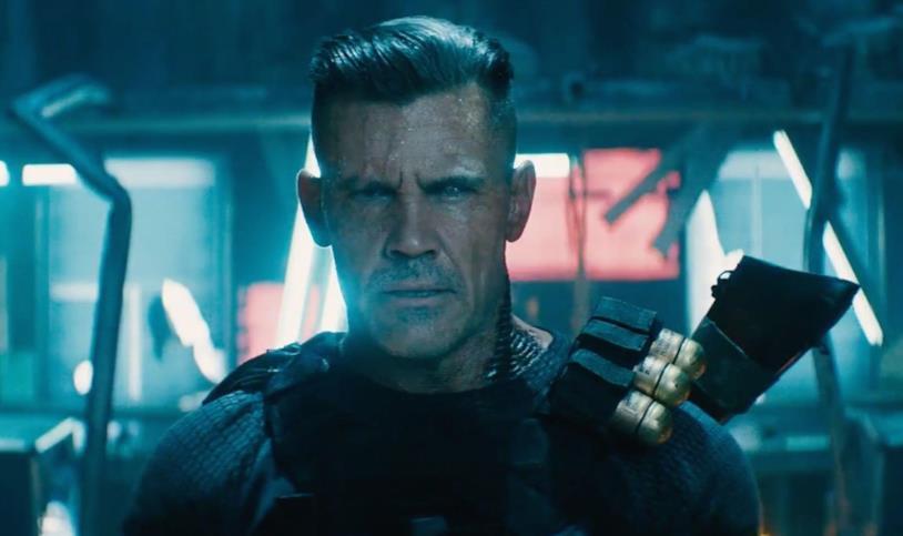 Josh Brolin è Cable in Deadpool 2