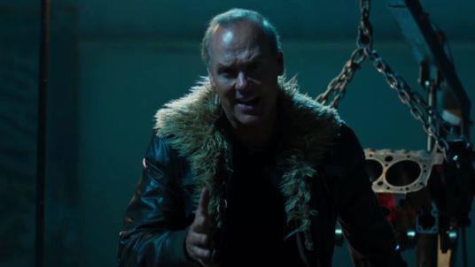 Michael Keaton nei panni di Avvoltoio in Spider-Man: Homecoming