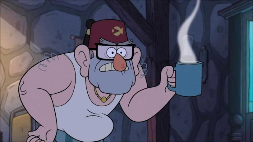 Gravity Falls lo zio Stanley