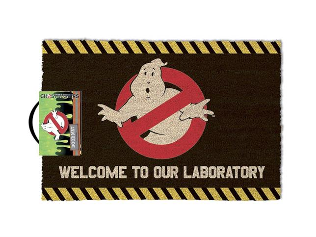 Zerbino con il logo di Ghostbusters