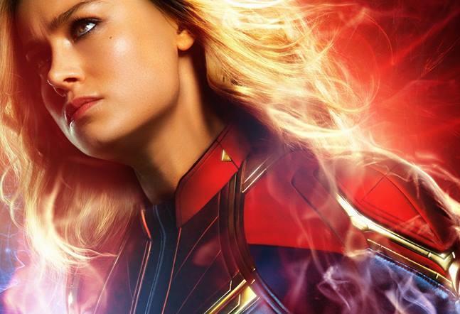 Character poster di Carol Danvers di Captain Marvel