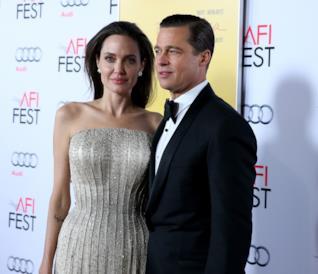 Brad Pitt e Angelina Jolie alla premiere di By the Sea nel 2015