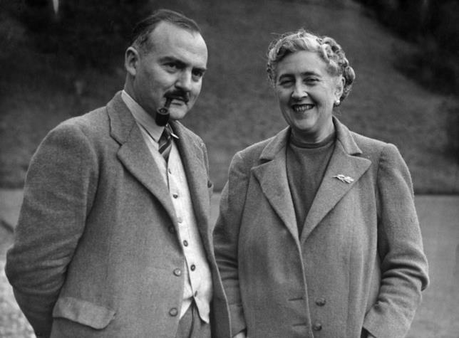 Max Mallowan con Agatha Christie