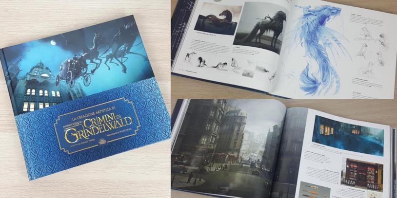 La creazione artistica di Animali Fantastici 2
