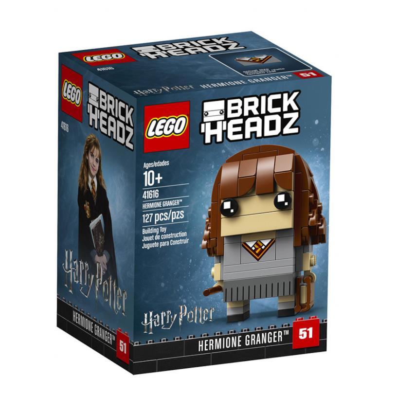 Dettagli del box del set di LEGO BrickHeadz: Hermione Granger