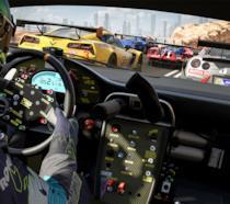 Un interno vettura da Forza Motorsport 7