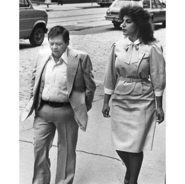 Dante Gill insieme alla moglie Cynthia Bruno