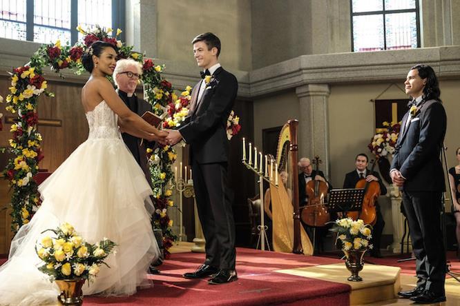 Il matrimonio fra Barry e Iris