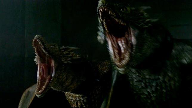 La furia di Viserion e Rhaegal