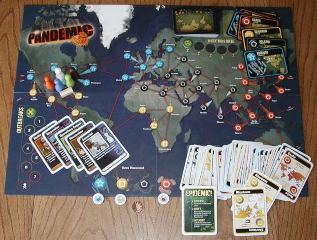 Il gioco Pandemia