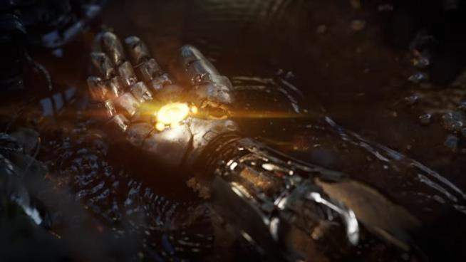 Una sequenza del teaser trailer di Avengers