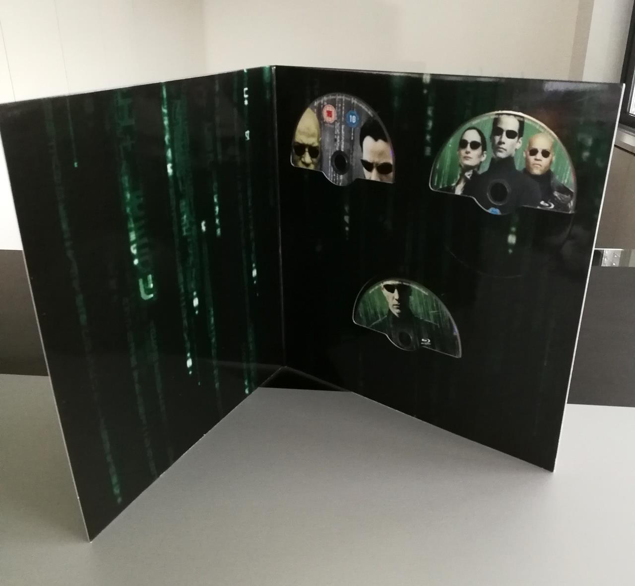 Matrix, l'interno della trilogia nella Vinyl Edition