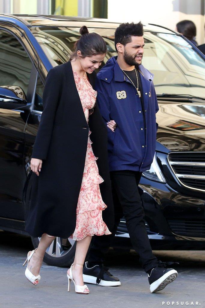 Selena Gomez e The Weeknd in giro per Firenze