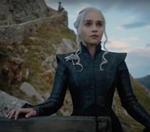 Daenerys Targaryen a Roccia del Drago in GoT 7