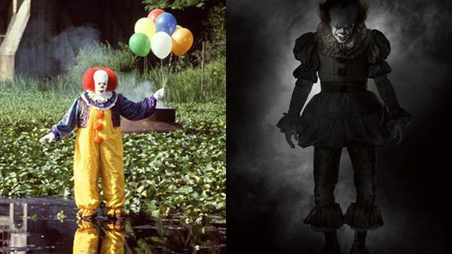 Pennywise originale e Pennywise remake