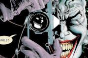 Dettaglio della celebre copertina di The Killing Joke